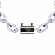 """Pewag 9/32"""" Security Chain Kit - 10 ft Chain & Padlock"""