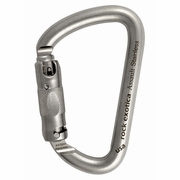Rock Exotica Assault Stainless Steel Carabiner - Triple-Locking