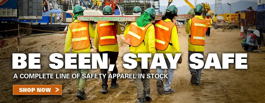 Reflective Safety Gear & Apparel for Construction Workers
