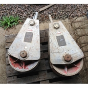 "Skookum, 16"" Trawl Block, #TB16W (Used)"