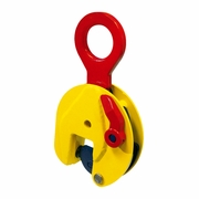 "Terrier 3/4T TS Straight Eye Lifting Clamp - 0.00"" - 0.51"" Jaw - 1650 lbs WLL - #850000"