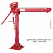 Thern, Galvanized Portable Davit Crane w/ M2 Winch, #5124M2GAL