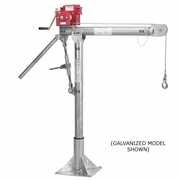 Thern, Portable Davit Crane w/ M2 Winch, #5110M2