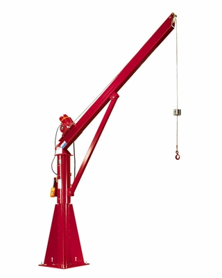 Thern, Stationary Davit Crane w/ E3 Electric Winch, #572E3