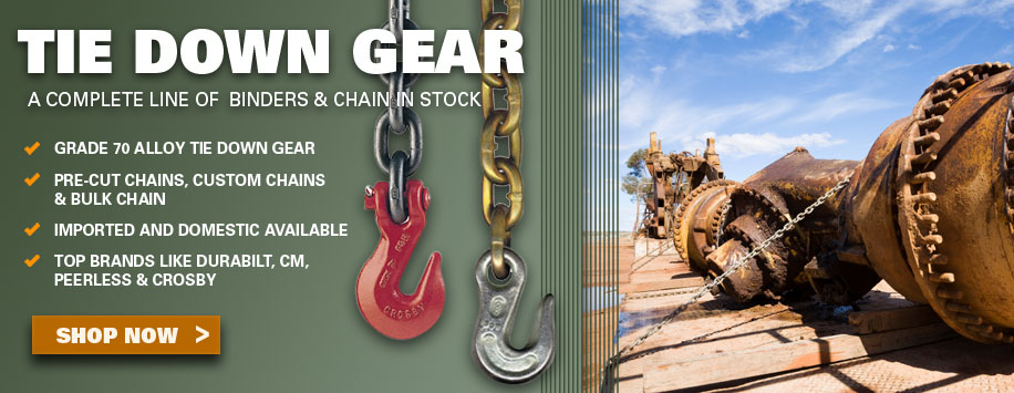 DOT Tie Down Chains for Load Securement for Sale