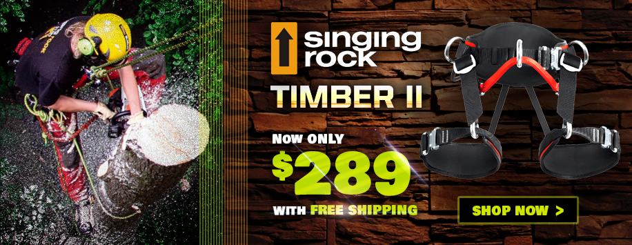 Singing Rock Timber II Arborist Saddle
