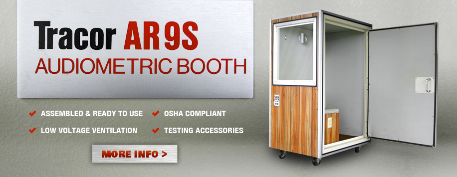 Tracor AR9S Hearing Test Booth