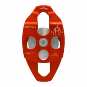 USR, Aluminum Double Sheave Climbing Pulley, #USR-PTW-A