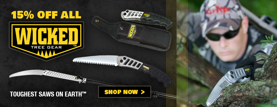 Wicked Tree Saws on Sale Now