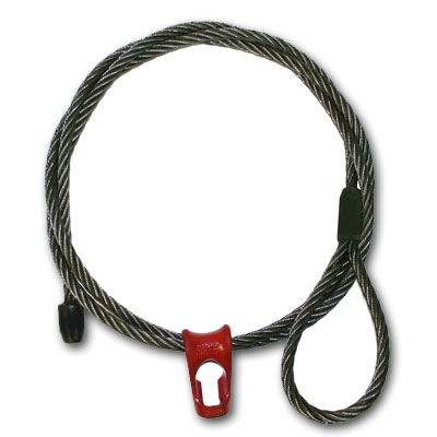 "WRS, 1/2"" x 8 ft Cat-Style Logging Choker"