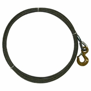 """WRS, 3/8"""" x 125ft Winch Cable w/ Standard Hook"""