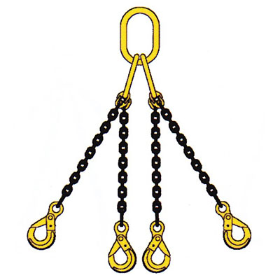"WRS, 5/16"" x 15ft Type QOBK Grade 100 Lifting Chain"