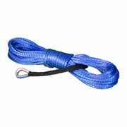 "Yale Cordage 1/2"" x 50 ft Ultrex UHMWPE Synthetic Winch Line - 37400 lbs Breaking Strength"