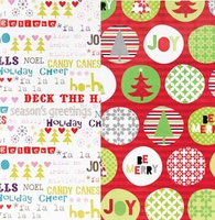 Be Merry Duo Roll Wrap