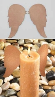 Candle Decorating Wings - 6 Pc. Set