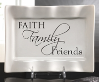Faith, Family Friends Platter
