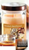 Frosted Shortbread Candle