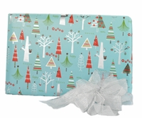 Holiday Trees Roll Wrap