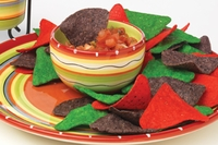 Hot Tamale Chip-n-Dip Server -- 2 pc Set