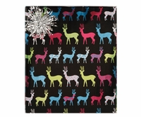 Multicolored Deer Roll Wrap