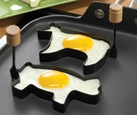 Pig & Cow Pancake/Egg Rings 2pc Set