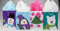 Polar Buddies Gift Bags � 4 Pc. Set