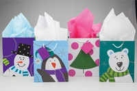 Polar Buddies Gift Bags - 4 pc. Set