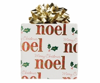 Red & Green Noel Roll Wrap