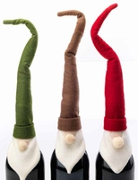 Santa Bottle Toppers - 3 Pc. Set