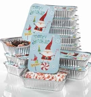 Santa Goodies Containers - 12 Pc. Set