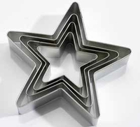 Star Cutters - 4 Pc. Set