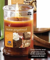 Warm Gingerbread Candle