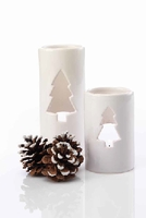 White Tree Luminaries - 2 Pc. Set