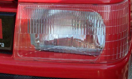 FRONT HEADLAMP COVER PLATE FOR 2015 MAHINDRA