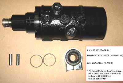HYDROSTATIC STEERING UNIT FOR 575 MAHINDRA TRACTOR
