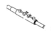 POWER STEERING CYLINDER ASSEMBLY FOR 575 MAHINDRA TRACTOR