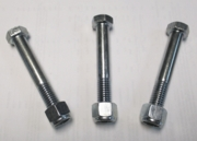 SHEAR BOLT KIT OF 3 FOR SLIP DRIVELINE ON HOWSE CUTTER