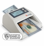Cassida 3300 Automatic Counterfeit Bill Detector with Counterfeit Shield Guarantee