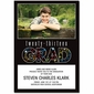 Class of 2013 Confetti Graduation Photo Invitations