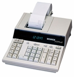 Monroe 2020PlusIII 12 Digit Desktop Printing Calculator Adding Machine