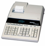 Monroe Classic Heavy Duty 12 Digit Desktop Printing Calculator / Adding Machine (Ivory)