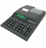 Monroe Ultimate Professional 12 Digit Desktop Printing Calculator (Black)