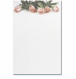 Pink Rose Petals 2-Up Jumbo Cards