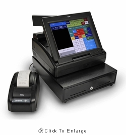 Royal TS1200MW Touch Screen Cash Register