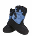 Blue Toddler Plush Boots Slippers