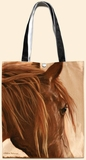 Chestnut Horse Oil Cloth Tote