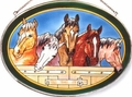 Five Horses Large Oval