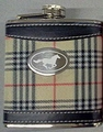 Stainless Steel Flask - Plaid Cover