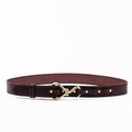 Hoof Pick Leather Belt  by Clever Leather