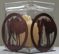 Horse and Girl Candle holder